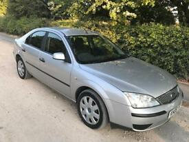 2006/06 FORD MONDEO 2.0 TDCI 130 BHP LX 5 DOOR SILVER