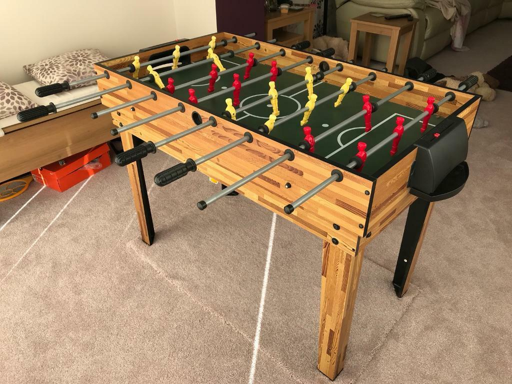 Multi game table for kids includes table football pool air hockey table tennis more in - Gumtree table tennis table ...