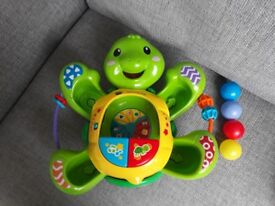 Excellent condition VTech Pop a Ball Rock & Pop Turtle