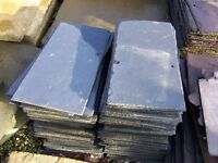 Roofing Slate Blue/Black with drilled holes