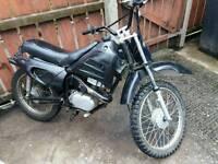 125 cc 2 stroke scrambler