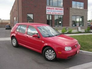 WOW 84,000 KM NICE 2007 VOLKSWAGON GOLF $5,999 CERTIFIED