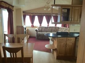 SUPERB PRE OWNED CARAVAN FOR SALE ON NORTHUMBERLAND COAST. 2017 SITE FEES INCLUDED.