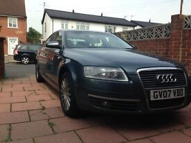 2007 Audi A6 TDI. Blue with service history