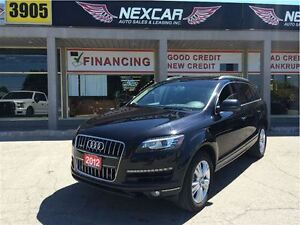 2012 Audi Q7 3.0T AUT0 AWD NAVI PANORAMIC ROOF 105K