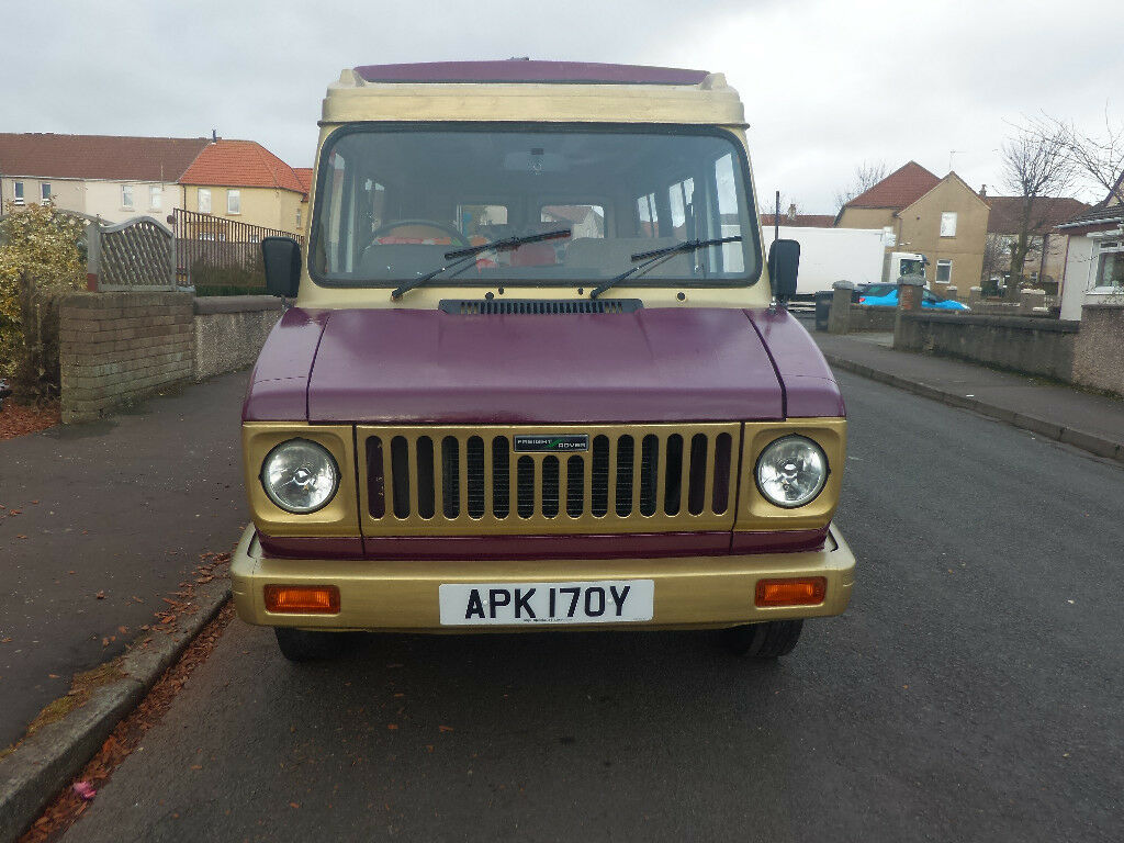 1983 Freight Rover Sherpa Leisure Campervan Like Leyland