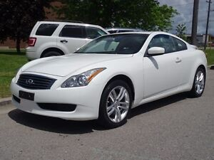 2010 Infiniti G37X  AWD.Sunroof.Leather.Accident Free.