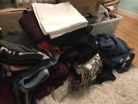 BULK LOAD OF SIZE 8-12 woman's clothes/size 4 shoes/bags