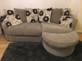 4 Seaters Sofa with stool