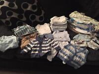 Boys Baby Bundle - 0-1 Month