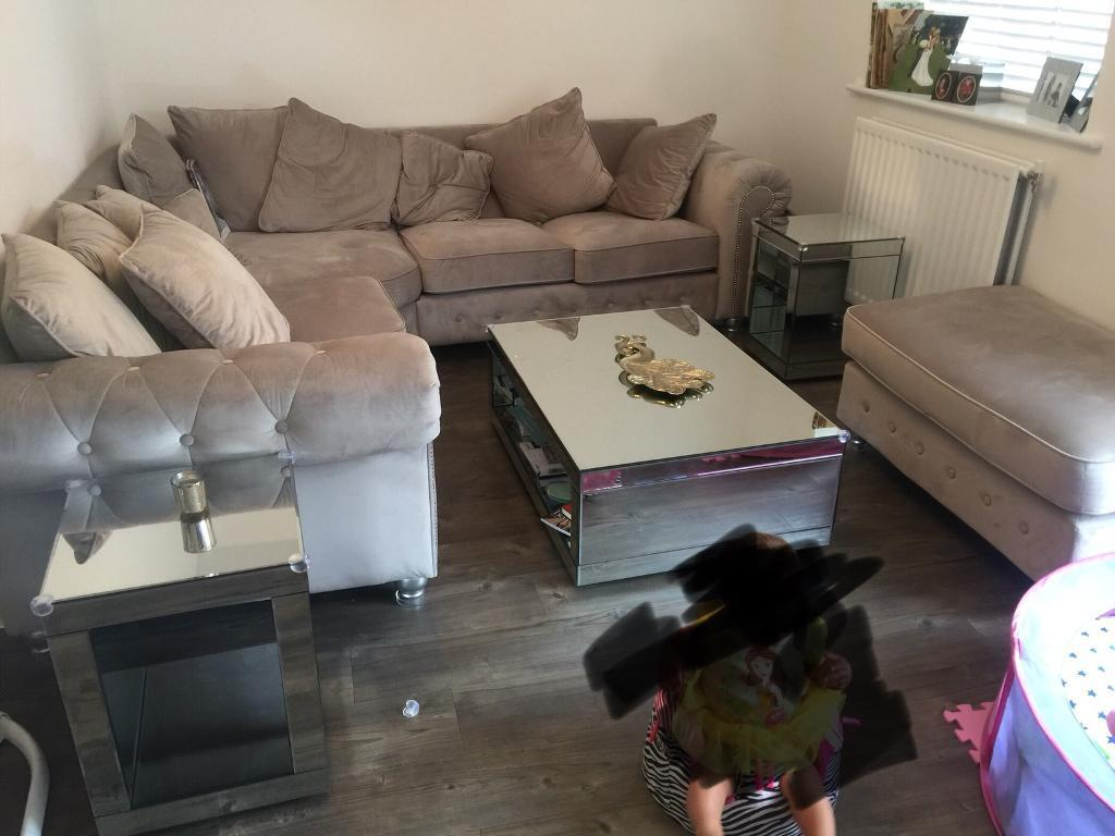 Next Mirrored Lounge Furniture Coffee Table Storage Unit Side Tables In Shoeburyness Essex Gumtree