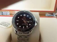 OMEGA Seamaster diver 300m black face full size stunning condition