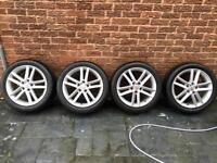 Seat Leon FR Alloys New Tyres