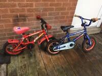 Kids bikes £15