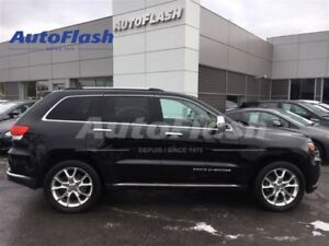 2015 Jeep Grand Cherokee SUMMIT 5.7L Hemi *Navi *Camera *Cuir *T