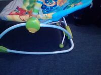 Baby Bouncing Chair with Mobile