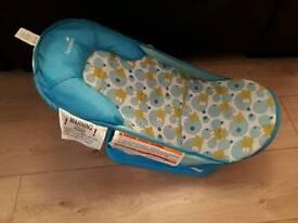 Summer Frog Baby Bath Seat