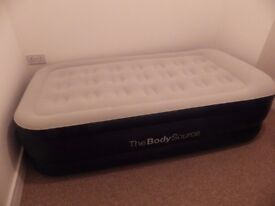 Single size Air Bed with Built-in Electric Pump 91x187x46cm