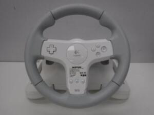 Logitech Wii Steering Wheel. We Buy and Sell Used Video Games. 51612 JV712431