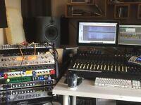 **Recording Studio £65 PerDay**--Recording/Producing/Mixing/Mastering/Sound Engineer