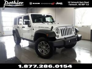 2017 Jeep Wrangler Unlimited Rubicon | 6.5 TOUCHSCREEN | HEATED