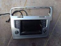 Volkswagen VW GOLF MK7 RADIO MULTIMEDIA COMPLETE CD PLAYER 5G0919605