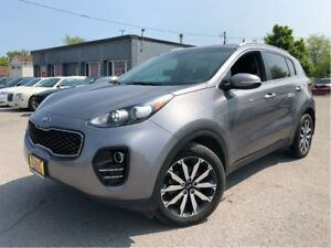 2017 Kia Sportage EX Tech w/Black AWD BACK UP CAMERA