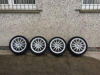 """Suzuki 17"""" Alloys with Good Tyres"""