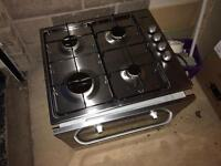 Zanussi electric oven and gas hob
