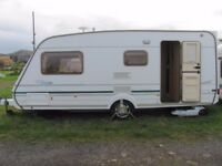 2004 abbey safari 4 berth caravan