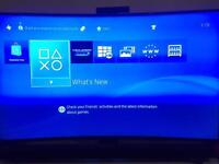 Playstation 4 500gb - console only with 4 games - no controller