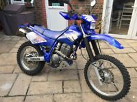 Yamaha TT250R (blue plastic tank model) Road legal Enduro bike