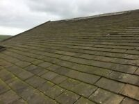 Reclaimed stone roofing slate (Greys)approx 70 tons