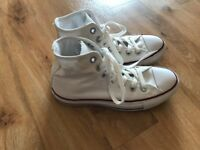Converse All Star High Tops - White UK 4