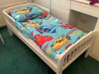 Child's single bed with brand new sturdy mattress