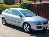 FORD FOCUS ZETEC CLIMATE 1.6 CAMBELT REPLACED FULL YEARS MOT 3 MONTHS WARRANTY
