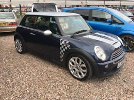 2006-55 Mini Cooper-S Limited Edition CHECKMATE 180bhp rare car facelift alloys NICE SPEC
