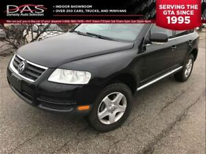 2007 Volkswagen Touareg V6 LEATHER/SUNROOF/4x4