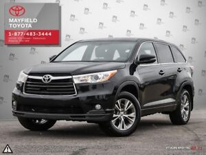 2014 Toyota Highlander LE Convenience Package