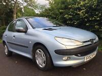 PEUGEOT 206 1.4 HDI **£30 YEAR ROAD TAX**GREAT MPG** SERVICE HISTORY**