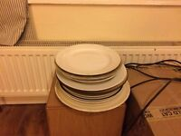 Free - Assorted dinner plates