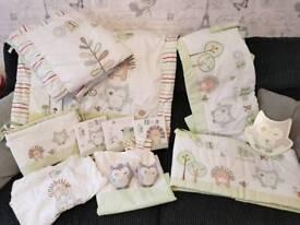 Olive and Henri nursery set
