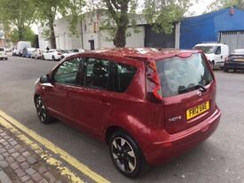 NISSAN NOTE AUTOMATIC 2012 IN EXCELLENT CONDITION