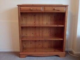 Medium solid wooden bookcase by Lovelace