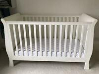 Cot Bed & Nursery Wardrobe Mamas and Papas Orchard furniture 🚭 pet free home