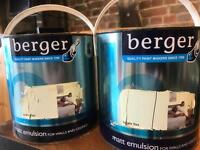 5ltrs Berger matt emulsion paint