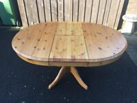 Solid Pine Dining Table ( Can Deliver )