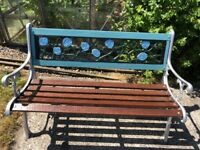 fully refurbished high quality garden bench
