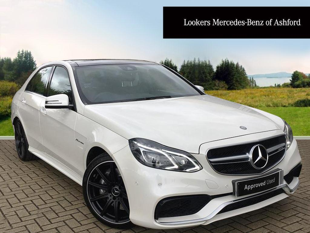 mercedes benz e class e63 amg white 2015 03 30 in ashford kent gumtree. Black Bedroom Furniture Sets. Home Design Ideas