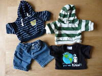 Wanted - Build a bear boys clothes, tops, trousers, shoes, coats etc